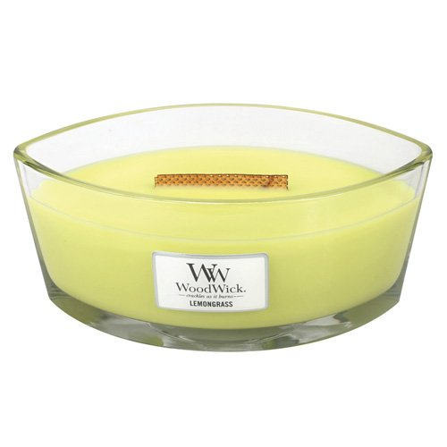 品質保証 レモングラスLily HearthWick Flame Large Scented HearthWick Candle Candle by WoodWick Large B013C66SLS, ショウワマチ:bafb35e8 --- a0267596.xsph.ru