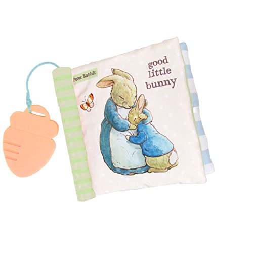 Beatrix Potter Peter Rabbit Soft Teether Book, 6.5