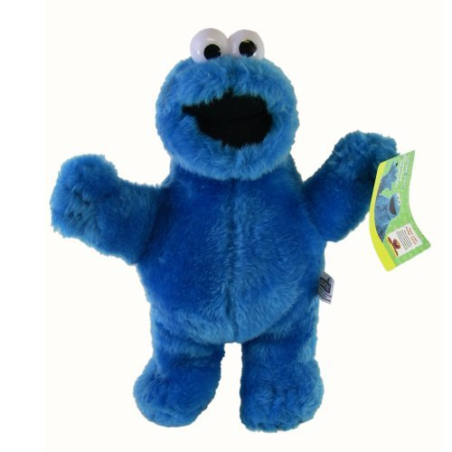Cookie Monster Stuffed Toy - Sesame Street Cookie Monster Plush Doll (12 In) (Sesame Street Stuffed Animals)