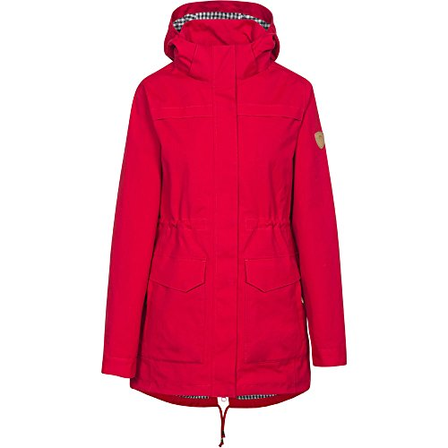 Breathable Waterproof navy ladies Womens Coat Trespass Jacket Amanita Red Check PtRIZq