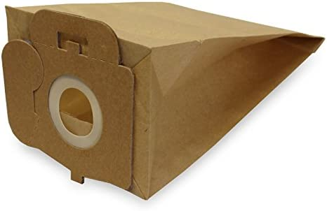10 bolsas de aspiradora Adecuado para Carrefour 4107.9 de polvo ...