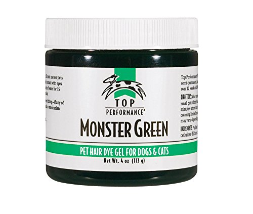 Top Performance Hair Dye Gel for Dogs, 4 Ounces,...