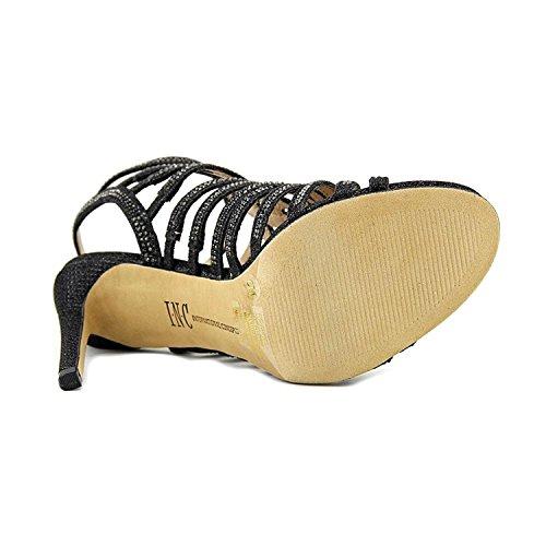 Inc Internazionale Concetti Donna Gawdie Open Toe Cinturino Alla Caviglia Classico Pompe Nero