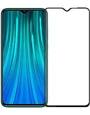 اسكرين واقي حماية الشاشة 9D  لهاتف شاومي ريدمي نوت 8 برو  (Redmi Note 8 Pro)، أسود