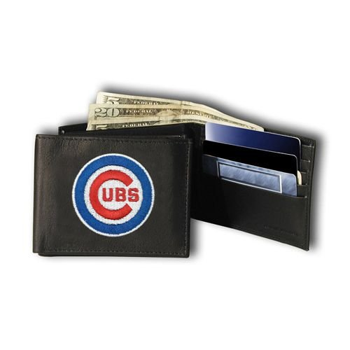 Rico Industries MLB Chicago Cubs Embroidered Bifold Wallet