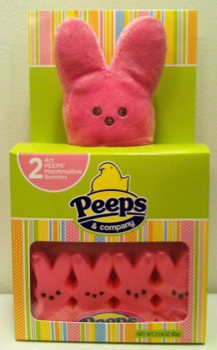 Peeps 8 Count with Plush Bunny (Pink)]()