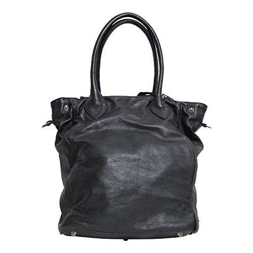 "Borsa in pelle ""Toots"" - di Another Bag - colore nero"