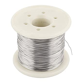 eDealMax Nicrom 80 0.3mm 28 AWG 100M Rollo 15.98 ohmios/m alambre calentador: Amazon.com: Industrial & Scientific