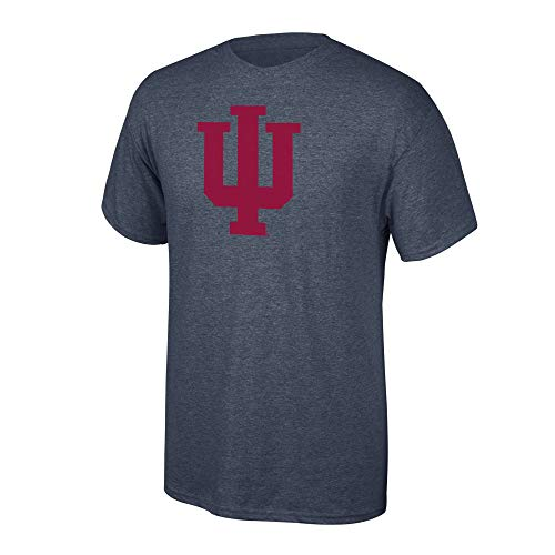 Elite Fan Shop NCAA Men's Indiana Hoosiers T Shirt Charcoal Icon Indiana Hoosiers Charcoal X Large