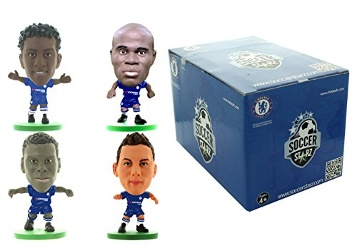 SoccerStarz SS4PCFCD Chelsea 4-Player Pack Version D Figure