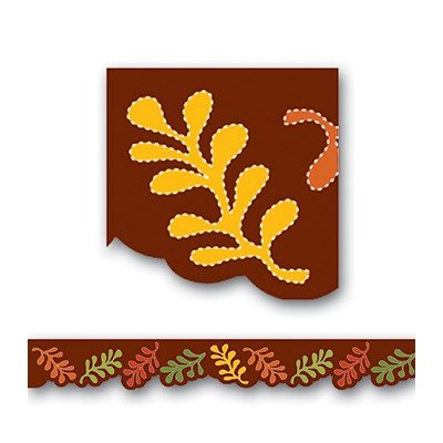 SCBCTP6805-13 - AUTUMN LEAVES SHAPED BORDERS pack of 13