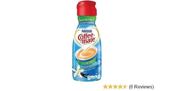 COFFEE-MATE French Vanilla Sugar Free Liquid Coffee Creamer 32 (Pack of 2): Amazon.com: Grocery & Gourmet Food