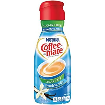 COFFEE-MATE French Vanilla Sugar Free Liquid Coffee Creamer 32 (Pack of 2)