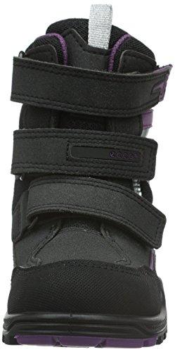 ECCO Xpedition, Zapatillas de Deporte Exterior para Niñas Negro (BLACK/GRAPE59461)