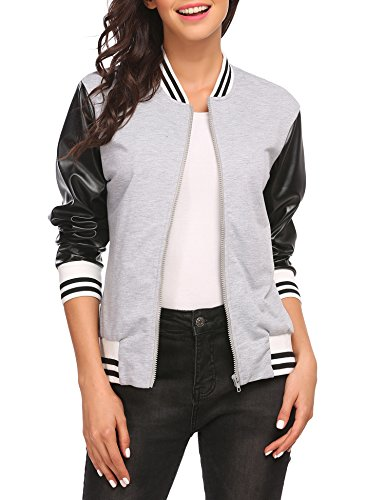 Cotton Blend Bomber Jacket - 6