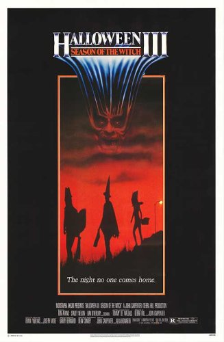 halloween movie poster double sided