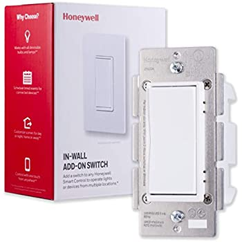 Honeywell Add On In Wall Paddle Switch For Honeywell Smart