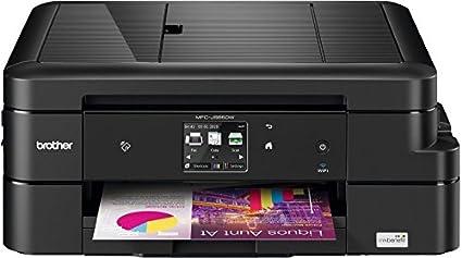 Brother MFC-J985DW- Impresora multifunción (Inyección de tinta, impresión en color, 2500 páginas por mes), Negro