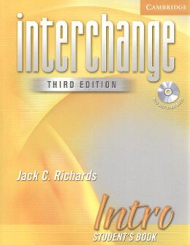 Interchange Intro Student's Book with Audio CD (Interchange Third Edition)