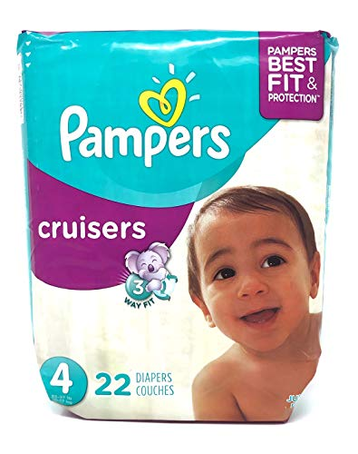 Pampers Pampers Cruisers Diapers Size 4, 22 ct