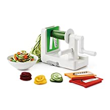 OXO Good Grips 3-Blade Spiralizer with Strong Hold Suction, White