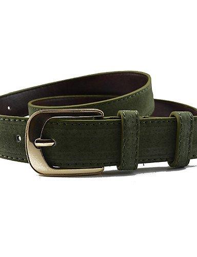 HAN-NMC Lady Belt Fashion Needle Buckle Army Green