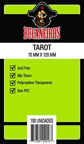 Sleeve Tarot Bucaneiros Jogos Transparente