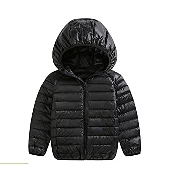Amazon.com: FOUNDO Kids Boys Girls Warm Puffer Jacket