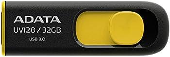 3-Pk. ADATA DashDrive UV128 32GB USB 3.0 Flash Drive