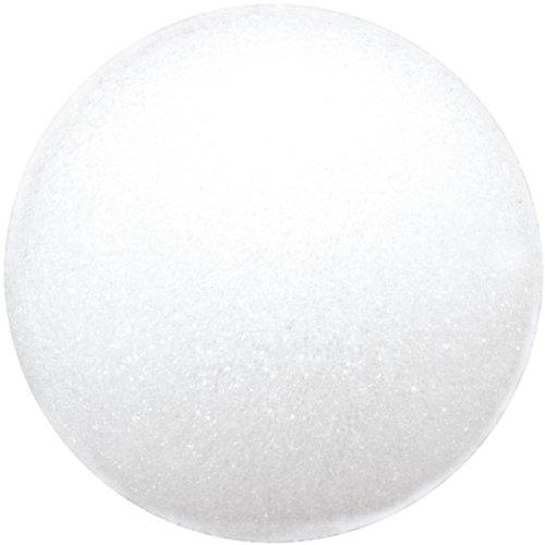- Floracraft Styrofoam Ball, 4-Inch, White, 2-Pack