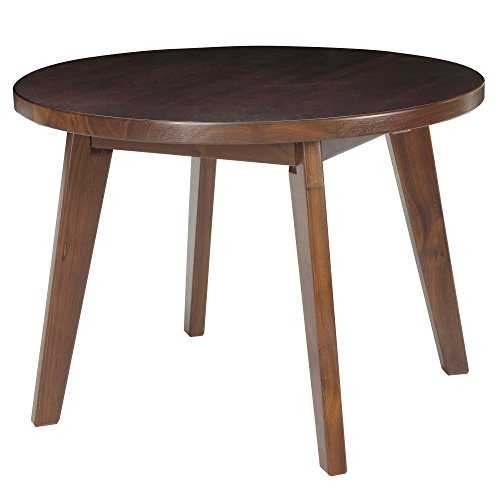 "American Trails Genuine Walnut 24"" Round Coffee Table - 1"" T"