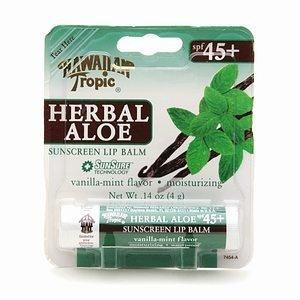 Hawaiian-Tropic-Herbal-Aloe-Sunscreen-Lip-Balm-SPF-45-014-Ounces-Pack-of-3
