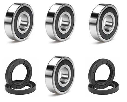 Honda TRX 400EX TRX 300EX TRX 300X TRX 300 TRX 250R TRX 250X BOTH Front Wheel Bearing and Seal Kits OEM (400ex Front Wheel Bearings compare prices)