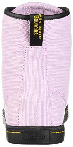 martens Pink Womens Sheridan eyelet Textile Woven Dr 8 Boots Mallow TdqWv58O