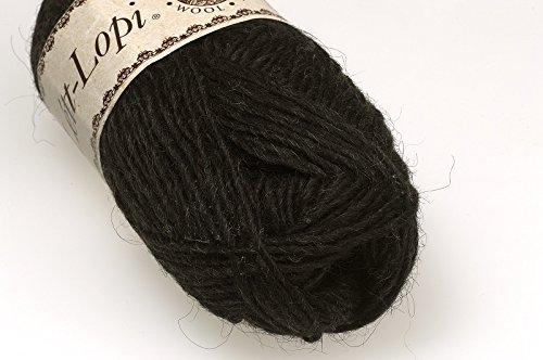 Lettlopi - Lopi Lite - black sheep heather 0052 - Worsted weight yarn - 100% icelandic wool (The Best Of Lopi)
