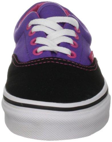 Vans Era Unisex-Erwachsene Sneakers (Tri-Tone) Black/Purple/Pink ...