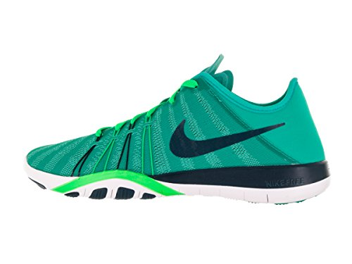 Femme 6 Clear Free Noir Turquoise de Midnight Fitness Trainer White Nike Chaussures Jade Green qYUT6US