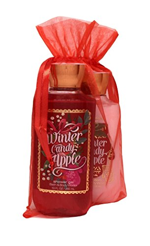 Bath & Body Works Winter Candy Apple Gift Set of Shower Gel and Body Lotion