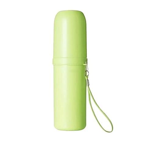 bismarckbeer viaje cepillo de dientes titular funda contenedor agua copa para al aire libre senderismo camping