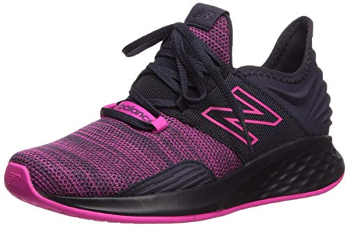 New Balance Women's Roav V1 Fresh Foam Running Shoe, Iodine Violet/Peony, 5 M US