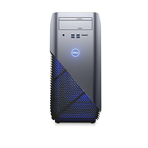 2018 Newest Flagship Dell Inspiron 5675 Premium Gaming VR Ready Desktop Computer (AMD Quad-Core Ryzen 5 1400 up to 3.4 GHz, 16GB DDR4 RAM, 128GB SSD + 1TB HDD, AMD Radeon RX 570 4GB, DVD, Windows 10)