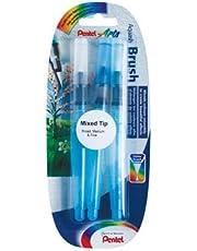 Pentel Water Brush Waterpenseel (fijne, medium en brede punt) 3 stuks