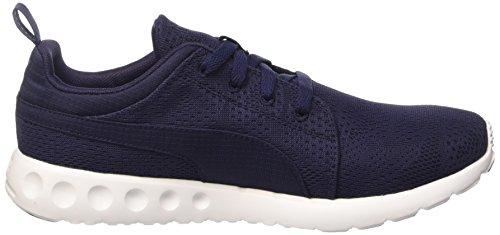 03 Adulte Mixte D'athlétisme Chaussures Puma Whit Peacoat Carsonruncamomhf6 Bleu AqFIxw8x