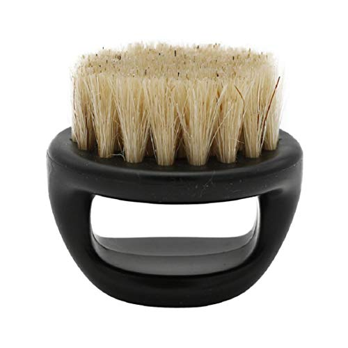 Price comparison product image Shaving Brush,  Men Horsehair Shaving Brush Shave Wood Handle Razor Barber Tool (C)