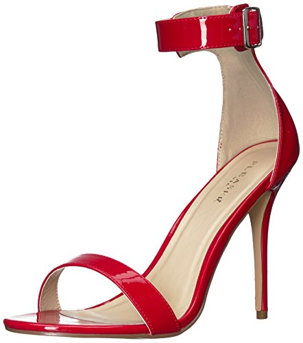 Women's 10 pat Amuse Red Pleaser Sandal YF8n0xFw