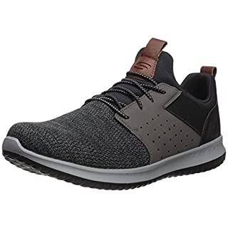 Skechers Classic Fit Delson Camben Black/Grey 9.5