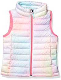Girl's Lightweight Water-Resistant Packable Puffer Vest
