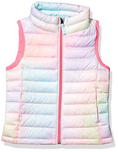 Amazon Essentials Girls Lightweight Water-Resistant Packable Puffer Vest