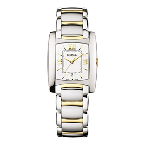 Ebel Brasilia Lady Two-Tone Stainless Steel Quartz Women's Watch 1215780 / E1257M32