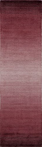 Momeni Rugs METROMT-12PLM2380 Metro Collection, 100% Wool Hand Loomed Contemporary Area Rug, 2
